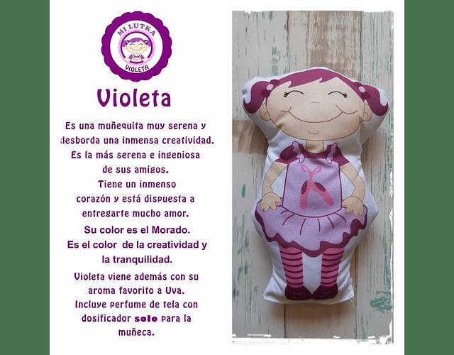 Guatero Cromoterapia - Violeta