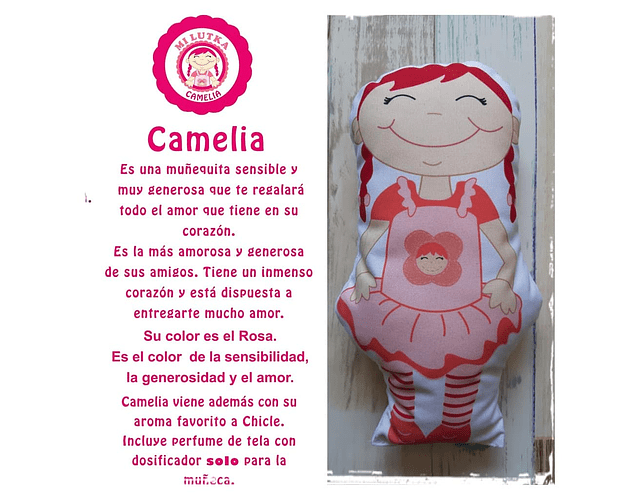 Guatero Cromoterapia - Camelia