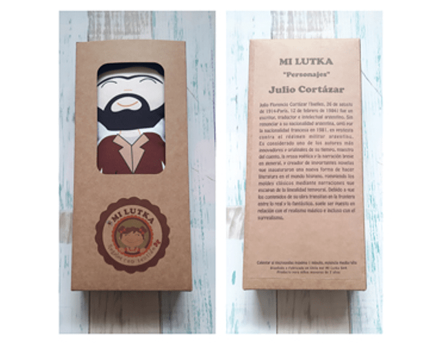 Guatero Personajes - Cortázar