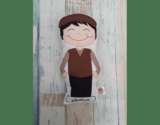 Guatero Personajes - Gilbert