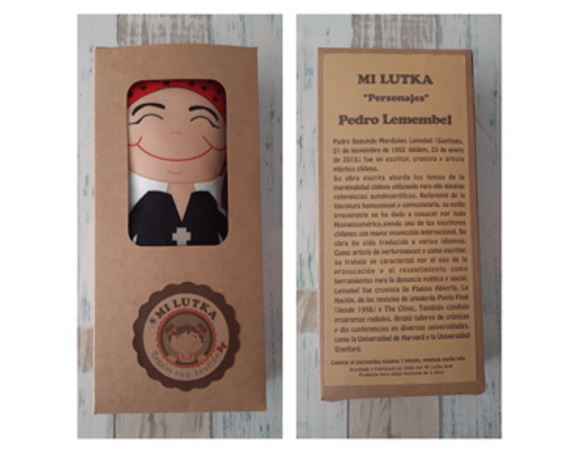 Guatero Personajes - Lemebel