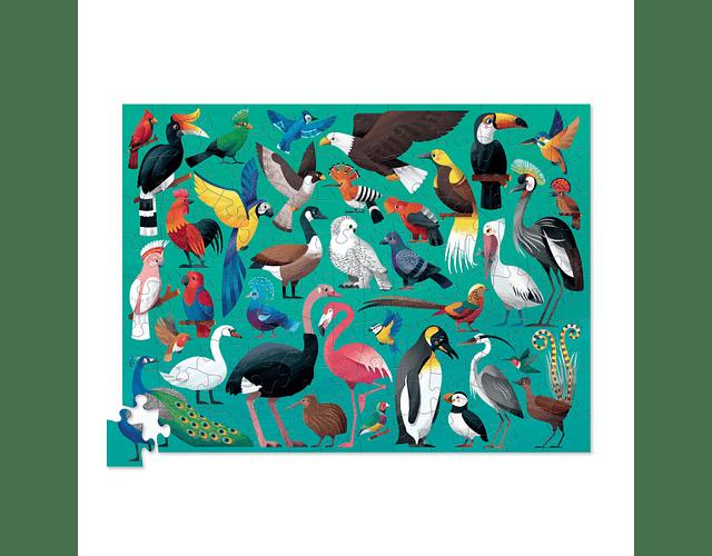 Puzzle Pájaros 100 piezas
