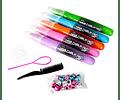 Metallic Hair Chalk Pens