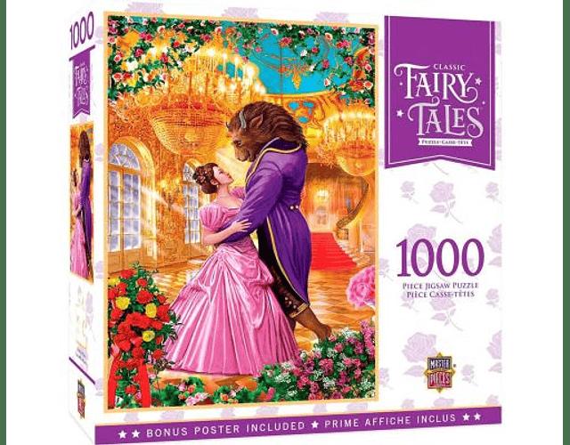 Puzzle La Bella y La Bestia 1000 Piezas