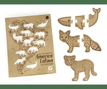 Puzzle América Latina