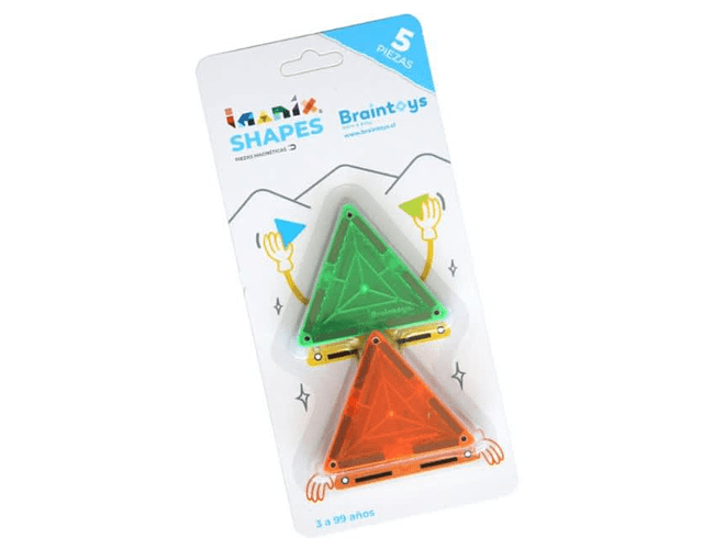 Set Triangulos Imanix 5 Piezas