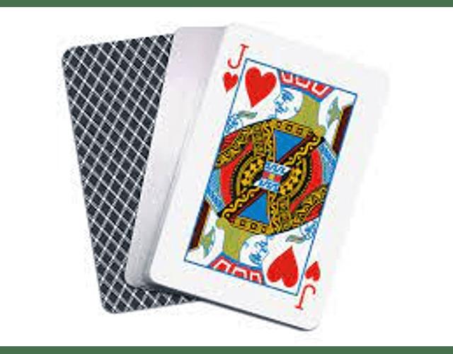 Baraja cartas de póker