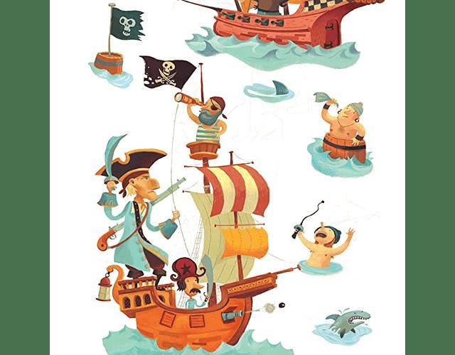 Sticker decorativo Treasure Island