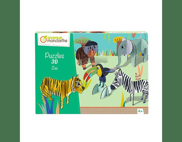 Puzle 3D Zoo