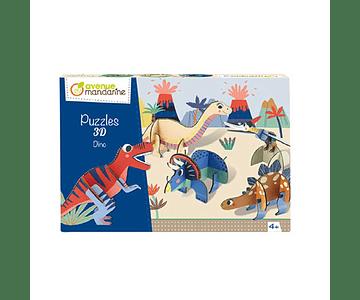 Puzle 3D Dino