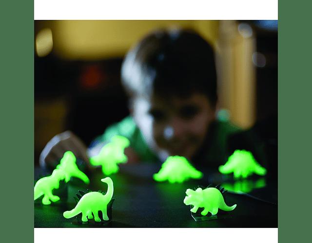Dinosaurios Fosforescentes 3D