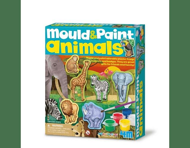 Moldea Pinta Animales