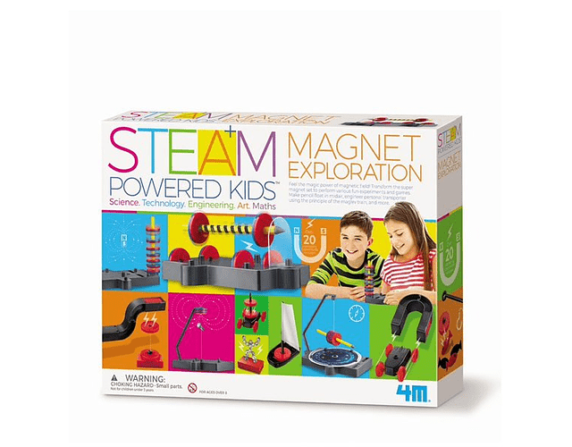 STEAM Exploración Magnética