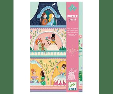Puzzle Gigante la torre de la princesa 36 piezas