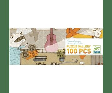 Puzzle Galeria Cinematografia 100 piezas