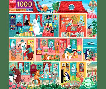 Puzzle Koala House Party 1000 piezas