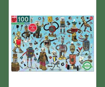 Puzzle Robots 100 piezas
