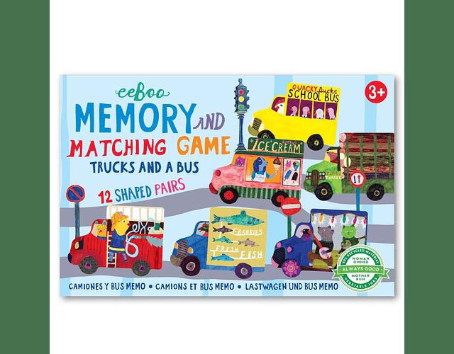 Memorice Camiones