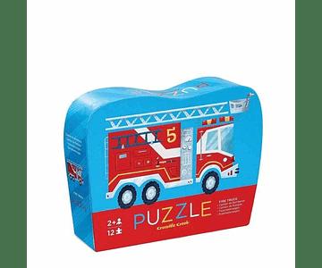Puzzle camión bombero 12 piezas