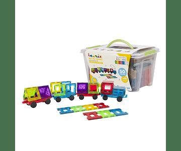 Imanix  set de trenes 50 piezas