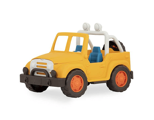 Jeep 4x4 amarillo Wonder Wheels