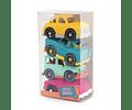 Set autos azul Wonder Wheels