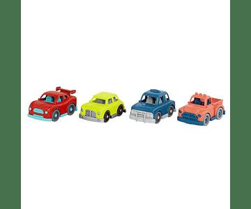 Set autos rojo Wonder Wheels