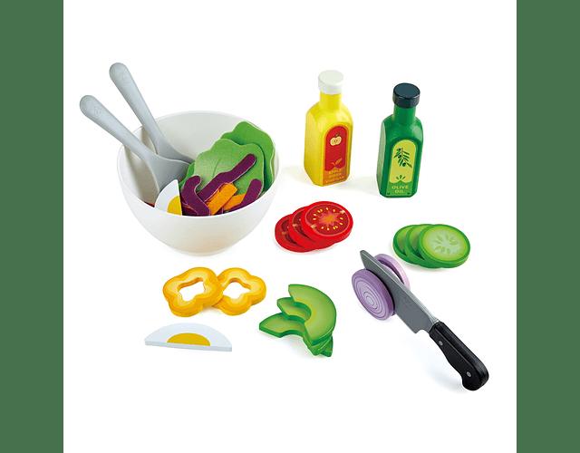 Set de ensalada saludable