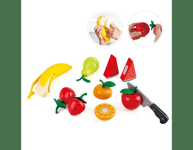 Set de frutas saludables