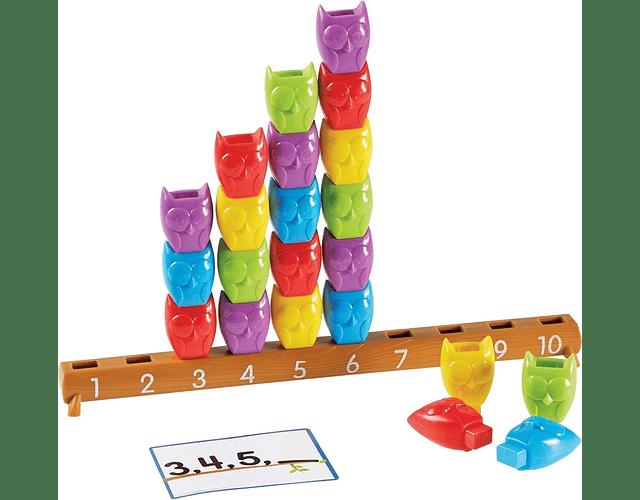 Juego aprendiendo a contar y patrones hasta 10