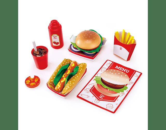 Set comida rápida