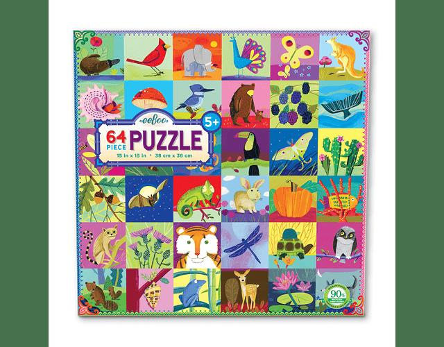 Puzzle Naturaleza 64 piezas