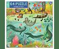 Puzzle Debajo de la superficie 64 piezas