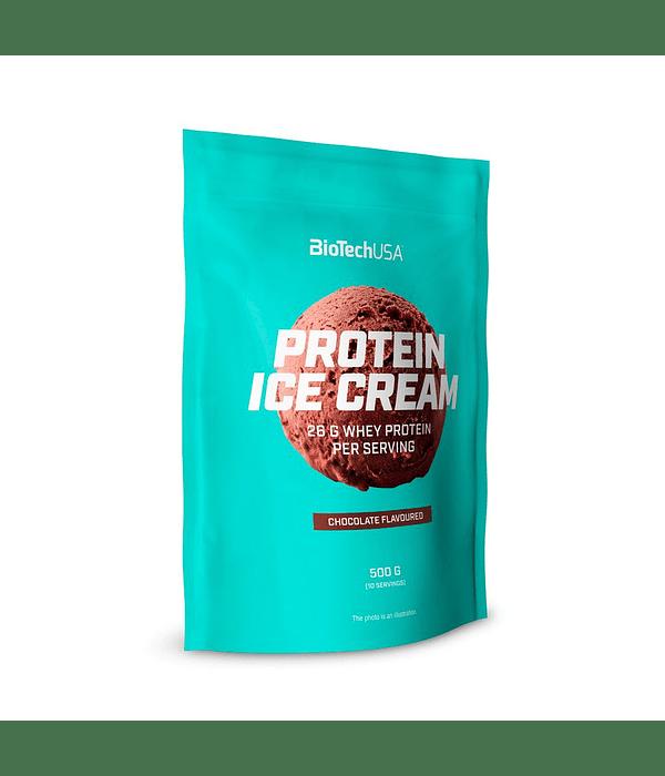 BIOTECH PROTEIN ICE CREAM 500 GRS 10 SERVICIOS
