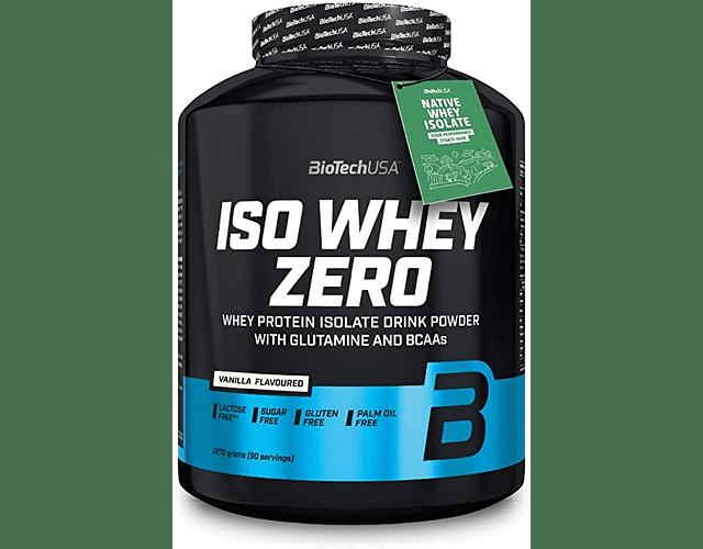 Iso Whey Zero Lactose & Gluten Free + Native Iso Whey 5 Lbs / 90 Servicios
