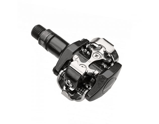 PEDAL SHIMANO PD-M505-L NEGRO W/O REFLECTOR, W/CLEAT(SM-SH51), NEGRO, IND.PACK E