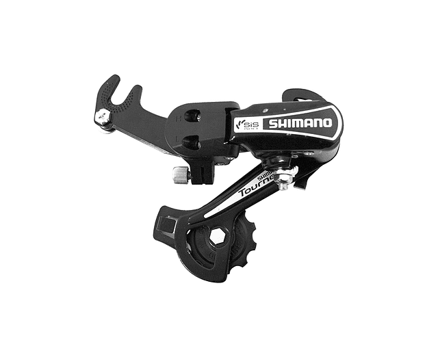 CAMBIO SHIMANO 6V. RD-TY21-B-GS SILVER C/PATA GS 6-SPEED,W/RIVETED ADAPTER(ROAD