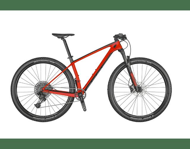 BICICLETA SCOTT SCALE 940 RED TALLA M 2021