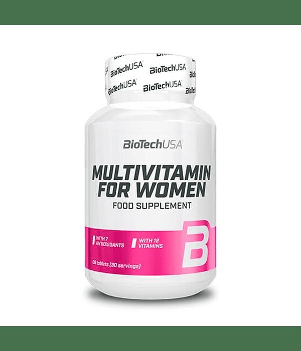 BIOTECH MULTIVITAMIN FOR WOMAN 60 TABLETAS