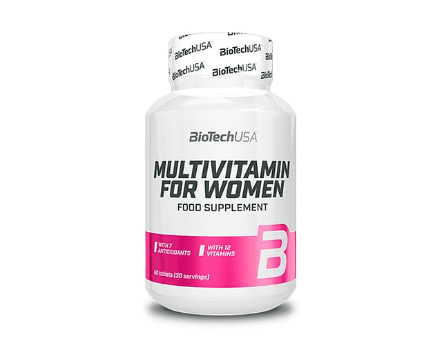 BIOTECH MULTIVITAMIN FOR WOMAN 60 TABLETAS