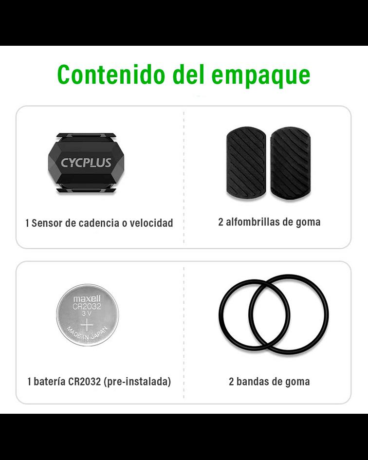 SENSOR DUAL VEL/CADENCIA CYCPLUS C3