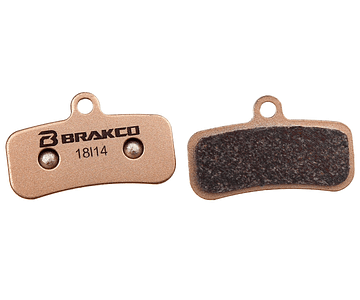 PASTILLA FRENO BRAKCO BP-43S & SP43 SINTERED SHIMANO SAINT