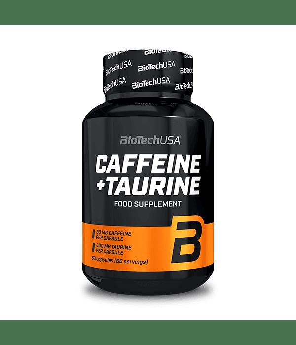CAFFEINE & TAURINE BIOTECH POWER FORCE 60 CAPSULAS