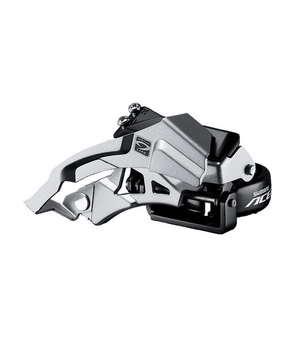 CAMBIADOR SHIMANO FD-M3000 ACERA TOP SWING DUAL PULL FOR REAR 9V BAND-TYPE 34