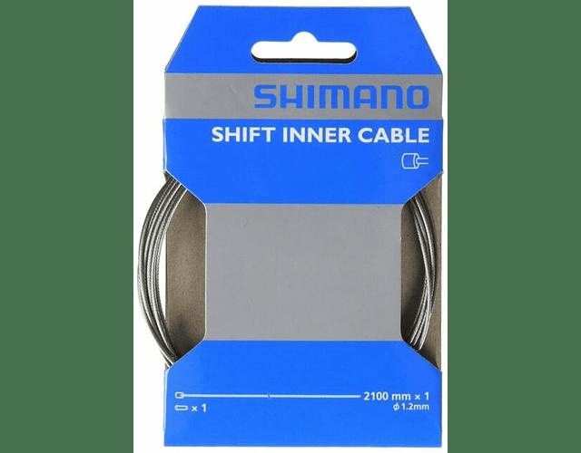 CABLE CAMBIO SHIMANO 2100 MM X 1 M Y60098070