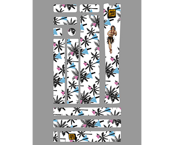 PROLINE BIKE GUARD ALOHA (TRANSPARENTE)