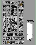 PROLINE BIKE GUARD SKULLS (TRANSPARENTE)