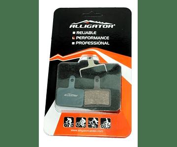 PASTILLA FRENO ALLIGATOR SEMI-METALICA HK-BP008