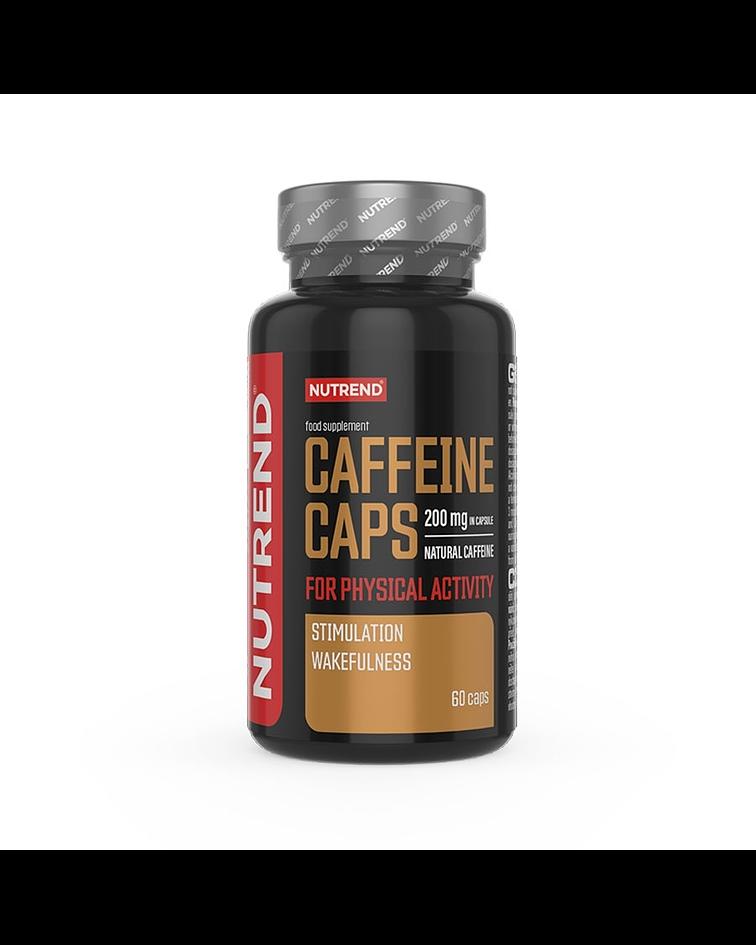 CAPSULAS CAFEINA NUTREND 200MG
