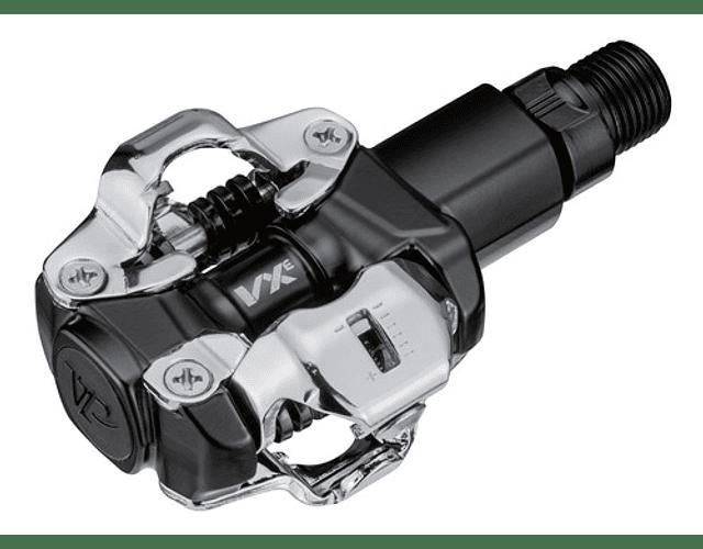 PEDAL VP VXE AXLE-CROMO BLACK VX-1001